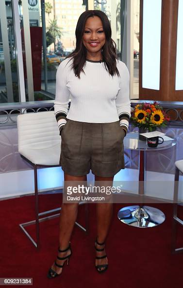 Actress/host Garcelle Beauvais poses at Hollywood Today Live at W Hollywood on September 20 2016 in Hollywood California