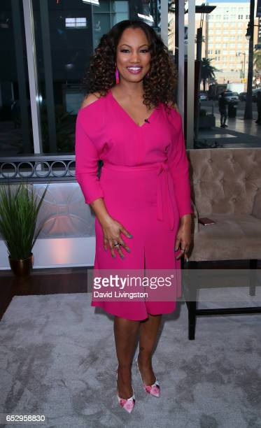 Actress/host Garcelle Beauvais poses at Hollywood Today Live at W Hollywood on March 13 2017 in Hollywood California