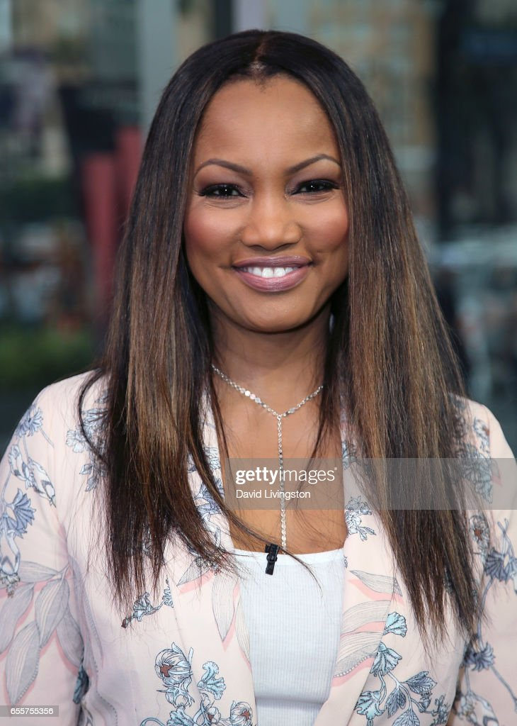 Actress/host Garcelle Beauvais poses at Hollywood Today Live at W Hollywood on March 20, 2017 in Hollywood, California.