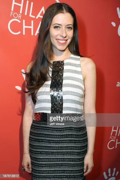 Actress/host Lauren Miller attends the Second Annual Hilarity For Charity benefiting The Alzheimer's Association at the Avalon on April 25 2013 in...