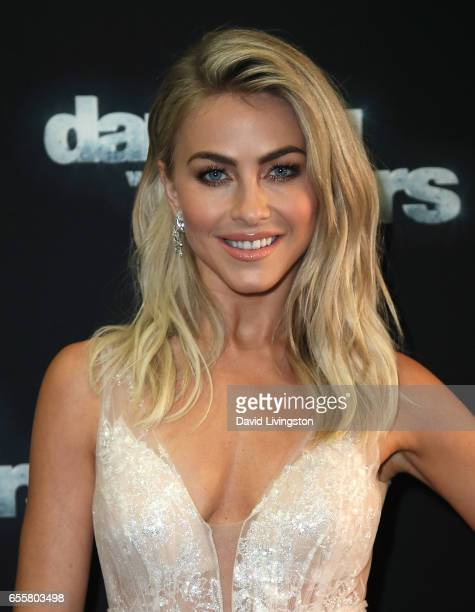 Actress/judge Julianne Hough attends 'Dancing with the Stars' Season 24 premiere at CBS Televison City on March 20 2017 in Los Angeles California