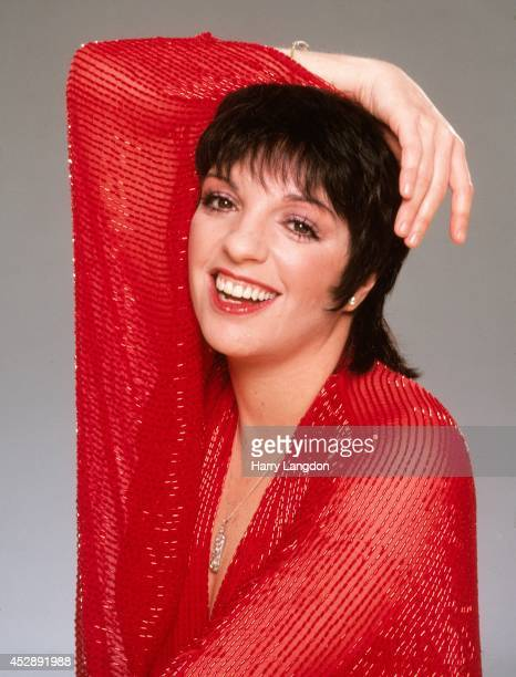 ActressLiza Minnelli poses for a portrait in 1983 in Los Angeles California
