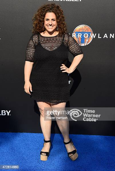 ActressMarissa Jaret Winokur attends the Premiere Of Disney's 'Tomorrowland' at AMC Downtown Disney 12 Theater on May 9 2015 in Anaheim California