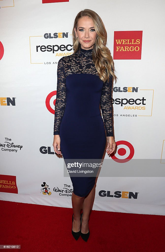 Actress/Miss USA 2015 Olivia Jordan attends the 2016 GLSEN Respect Awards at the Beverly Wilshire Four Seasons Hotel on October 21, 2016 in Beverly Hills, California.