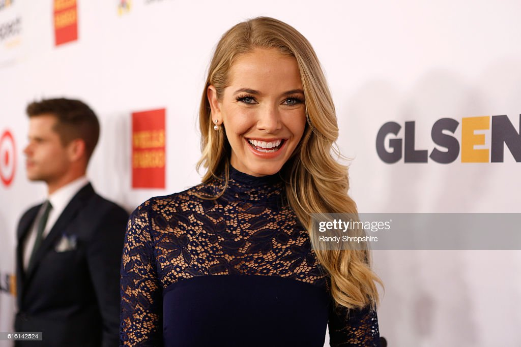 Actress/Miss USA 2015 Olivia Jordan attends the 2016 GLSEN Respect Awards - Los Angeles at the Beverly Wilshire Four Seasons Hotel on October 21, 2016 in Beverly Hills, California.