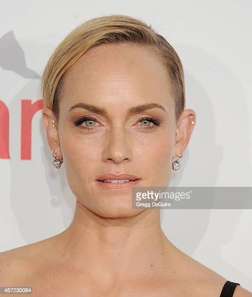 Actress/model Amber Valletta arrives at the 20th Annual Fulfillment Fund Stars Benefit Gala at The Beverly Hilton Hotel on October 14 2014 in Beverly...