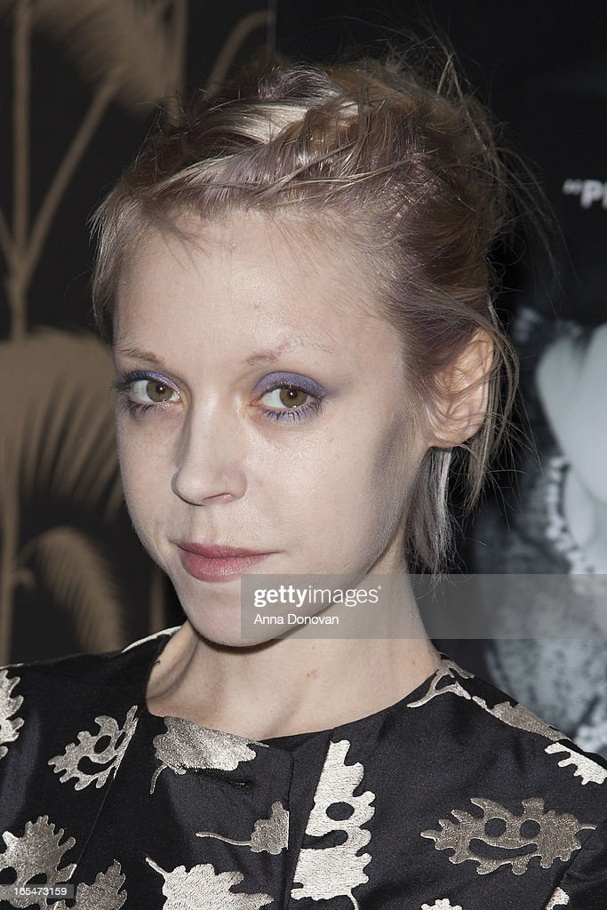 Actress/model <a gi-track='captionPersonalityLinkClicked' href=/galleries/search?phrase=Antonia+Campbell-Hughes&family=editorial&specificpeople=5292533 ng-click='$event.stopPropagation()'>Antonia Campbell-Hughes</a> attends 'Lotus Eaters' New York Premiere at No. 8 on April 3, 2013 in New York City.