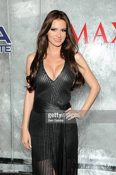 Actress/model April Rose attends MAXIM Magazine's 'Big Game Weekend' Sponsored By AQUAhydrate on January 31 2014 in New York City