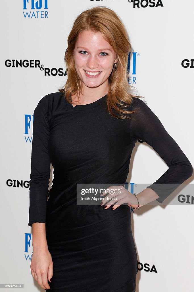 Actress/model Ashley Hinshaw attends the screening of A24 Films' 'Ginger & Rosa' at The Paley Center for Media on November 8, 2012 in Beverly Hills, California.