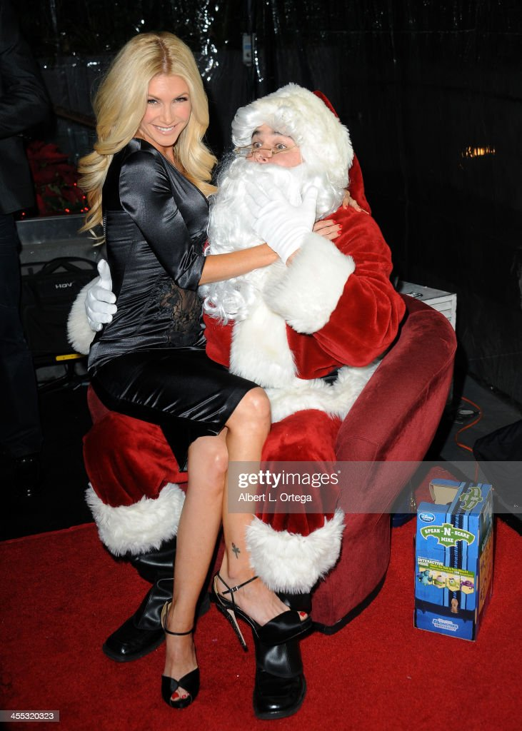 Actress/model Brande Roderick attends the 6th Annual Babes In Toyland Charity Toy Drive held at The Station at The W Hotel on December 11, 2013 in Hollywood, California.