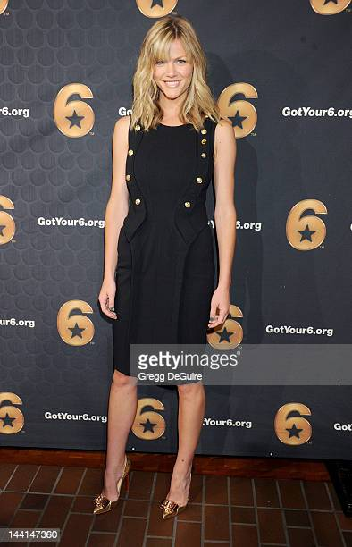 Actress/model Brooklyn Decker attends the 'Got Your 6' press conference at SAG Foundation Actors Center on May 10 2012 in Los Angeles California