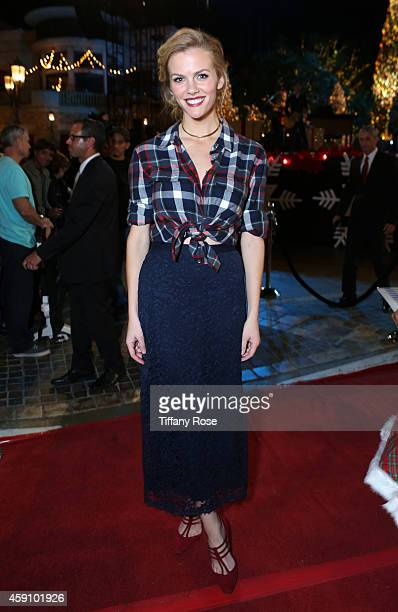 Actress/model Brooklyn Decker attends The Grove's 12th Annual Christmas Tree Lighting Spectacular Presented By Citi at The Grove on November 16 2014...