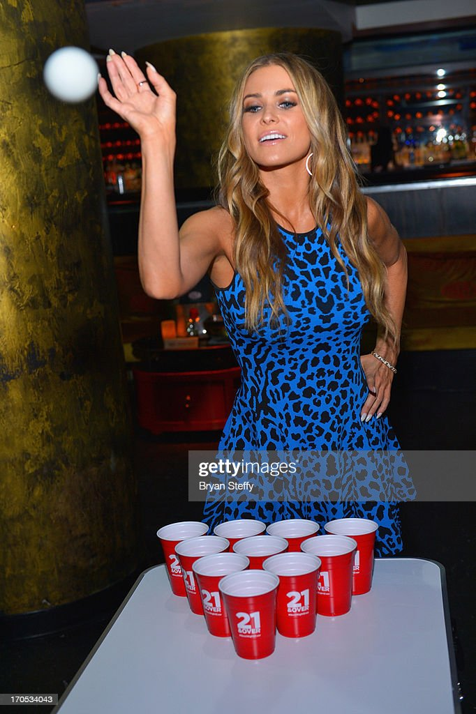 Actress/model Carmen Electra appears during the Blu-ray & DVD release of the movie '21 & Over' at Haze Nightclub at the Aria Resort & Casino at City Center on June 13, 2013 in Las Vegas, Nevada.