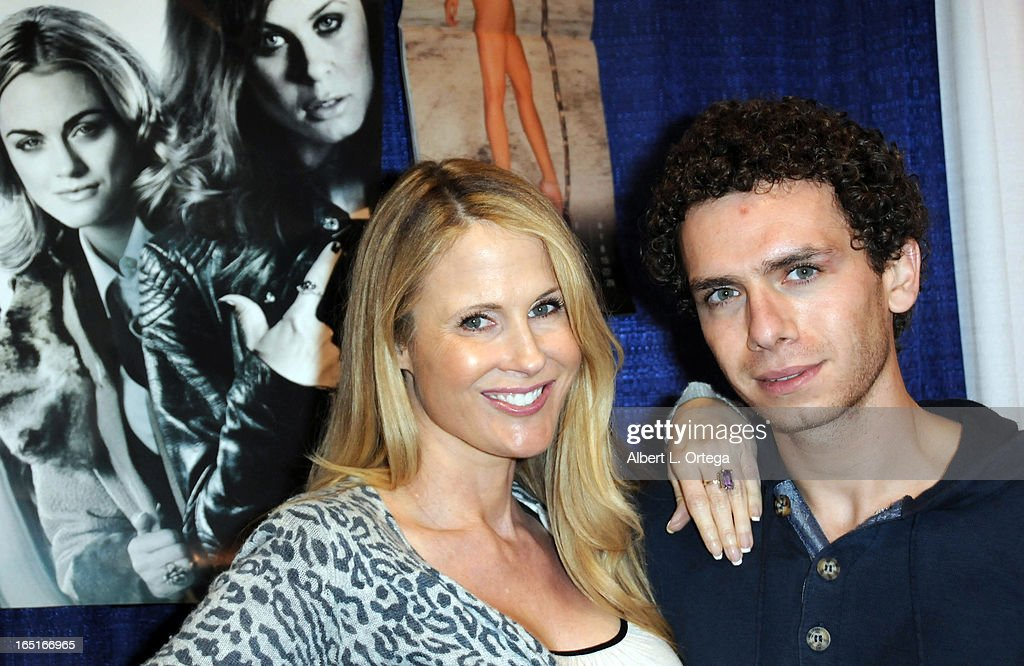 Actress/model Chanel Ryan and actor Marc Donato participate in WonderCon Anaheim 2013 - Day 3 held at Anaheim Convention Center on March 31, 2013 in Anaheim, California.