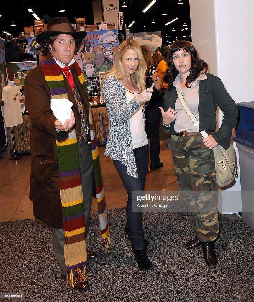 Actress/model Chanel Ryan participates in WonderCon Anaheim 2013 - Day 3 held at Anaheim Convention Center on March 31, 2013 in Anaheim, California.