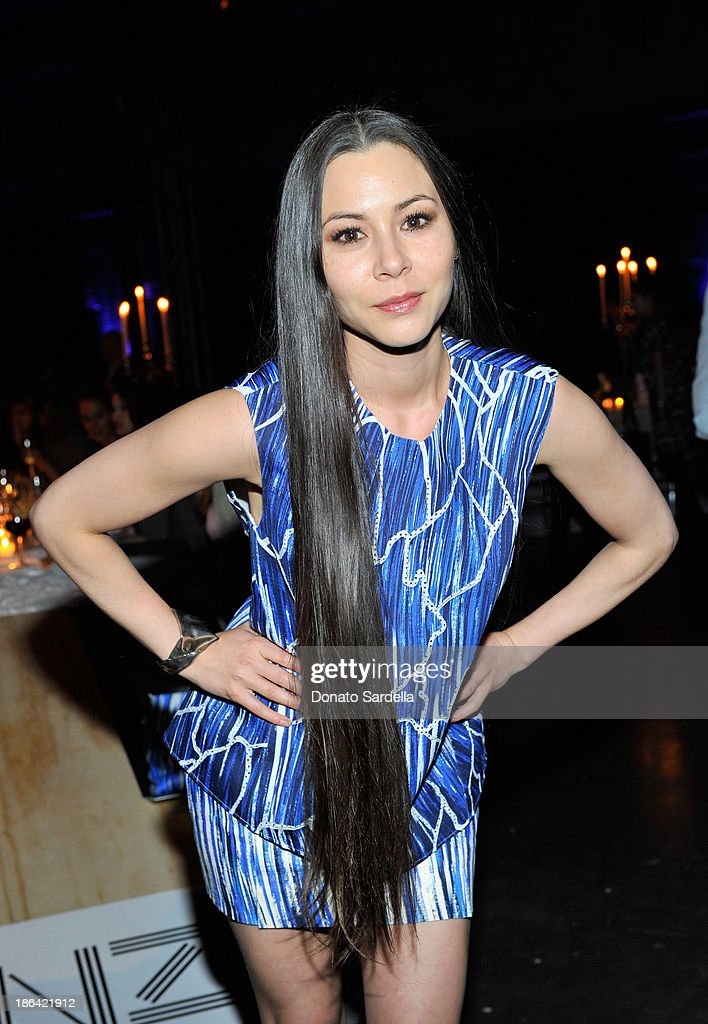 Actress/model <a gi-track='captionPersonalityLinkClicked' href=/galleries/search?phrase=China+Chow&family=editorial&specificpeople=581526 ng-click='$event.stopPropagation()'>China Chow</a> attends the Kenzo Kalifornia launch dinner and party at The Berrics on October 30, 2013 in Los Angeles, California.