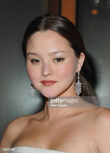 Actress/model Devon Aoki attends Vikram Chatwal's 40th Birthday celebration at Romera at the Dream Downtown on October 28 2011 in New York City