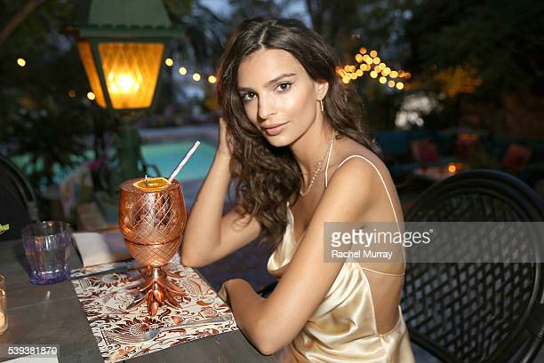 Actress/Model Emily Ratajkowski's celebrates her 25th birthday at the private residence of Absolut Elyx CEO Jonas Tahlin on June 10 2016 in Los...