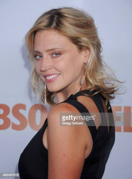 Actress/model Estella Warren arrives at the Pathway To The Cures For Breast Cancer event at Barkar Hangar on June 11 2014 in Santa Monica California