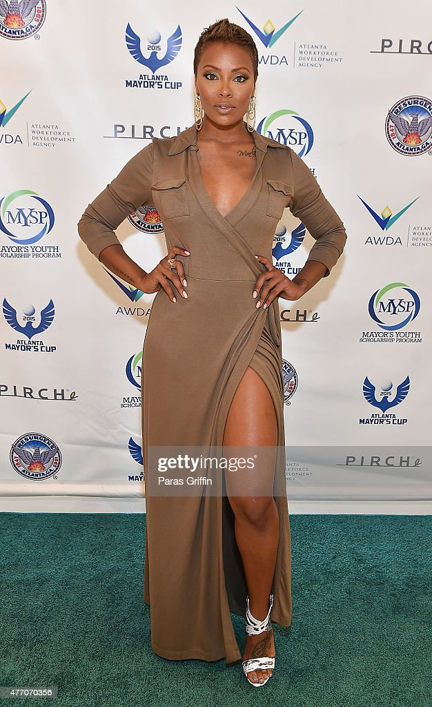 Actress model eva marcille attends mayor kasim reed 39 s 18th for Pirch atlanta