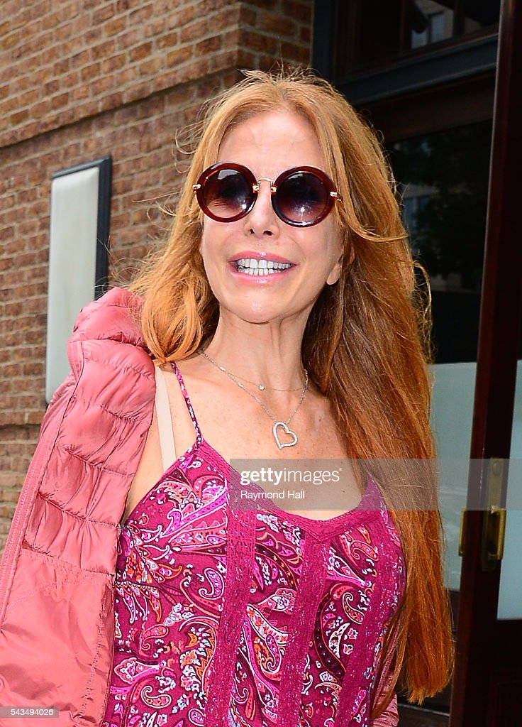 Actress/model Graciela Alfano is seen walking in Soho on June 28, 2016 in New York City.