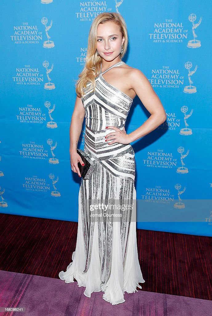 Actress/model Hayden Panettiere attends the 34th Annual Sports Emmy Awards Reception at Frederick P. Rose Hall, Jazz at Lincoln Center on May 7, 2013 in New York City.