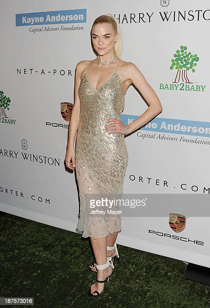 Actress/model Jaime King arrives at the 2nd Annual Baby2Baby Gala at The Book Bindery on November 9 2013 in Culver City California