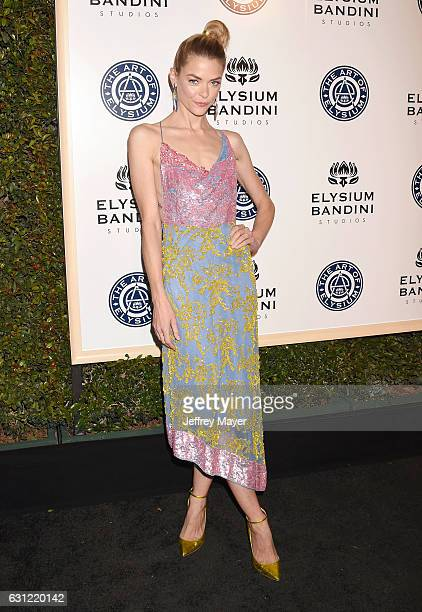 Actress/model Jaime King arrives at The Art of Elysium presents Stevie Wonder's HEAVEN Celebrating the 10th Anniversary at Red Studios on January 7...