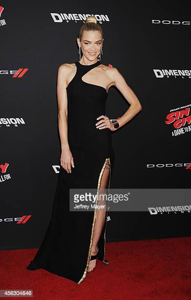 Actress/model Jaime King arrives at the 'Sin City A Dame To Kill For' Los Angeles Premiere at TCL Chinese Theatre on August 19 2014 in Hollywood...