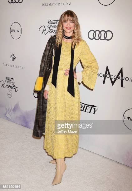 Actress/model Jaime King arrives at the Variety's Power Of Women Los Angeles at the Beverly Wilshire Four Seasons Hotel on October 13 2017 in Beverly...
