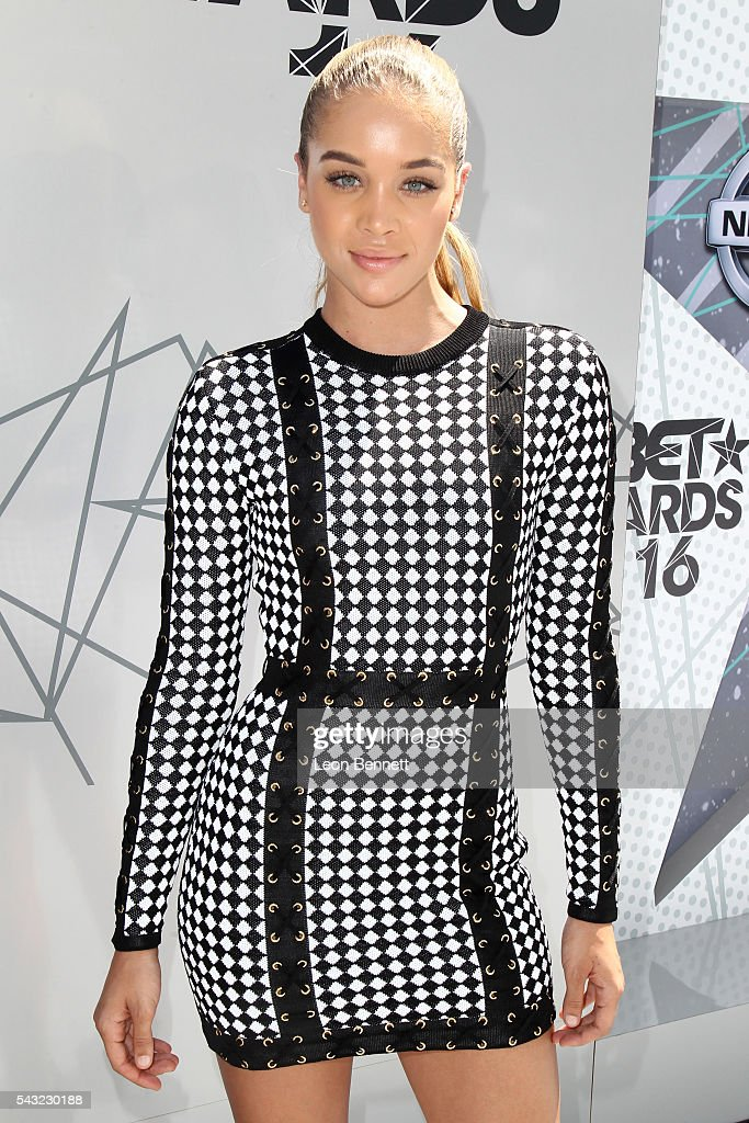 Actress/Model Jasmine Sanders attends the Make A Wish VIP Experience at the 2016 BET Awards on June 26, 2016 in Los Angeles, California.