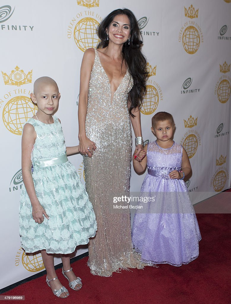 Actress/Model <a gi-track='captionPersonalityLinkClicked' href=/galleries/search?phrase=Joyce+Giraud&family=editorial&specificpeople=841715 ng-click='$event.stopPropagation()'>Joyce Giraud</a> and guests attends Queen Of The Universe International Beauty Pageant at Saban Theatre on March 16, 2014 in Beverly Hills, California.