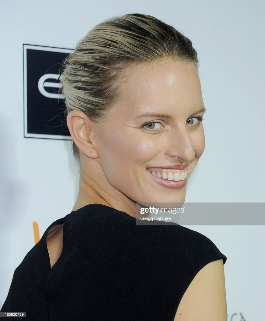 Actress/model <a gi-track='captionPersonalityLinkClicked' href=/galleries/search?phrase=Karolina+Kurkova&family=editorial&specificpeople=202513 ng-click='$event.stopPropagation()'>Karolina Kurkova</a> arrives at the Dream For Future Africa Foundation Gala at Spago on October 24, 2013 in Beverly Hills, California.