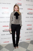 Actress/model Kate Upton attends The Cinema Society Bobbi Brown with InStyle screening of 'The Other Woman' at The Paley Center for Media on April 24...