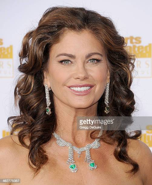 Actress/model Kathy Ireland arrives at the 50th Anniversary Celebration Of Sports Illustrated Swimsuit Issue at Dolby Theatre on January 14 2014 in...