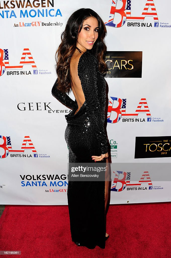 Actress/model Leilani Dowding attends the 6th Annual Toscar Awards at the Egyptian Theatre on February 19, 2013 in Hollywood, California.