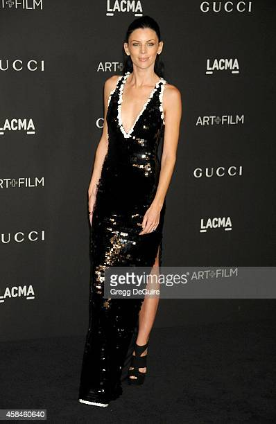 Actress/model Liberty Ross attends the 2014 LACMA Art Film Gala Honoring Barbara Kruger And Quentin Tarantino Presented By Gucci at LACMA on November...