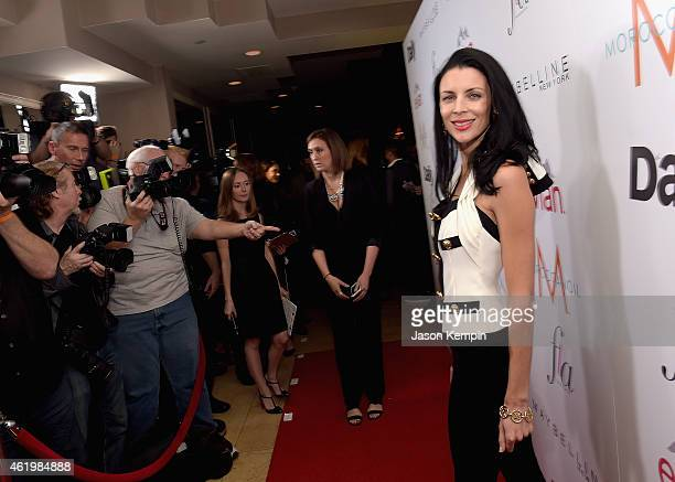 Actress/model Liberty Ross attends The DAILY FRONT ROW 'Fashion Los Angeles Awards' Show at Sunset Tower on January 22 2015 in West Hollywood...