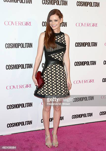 Actress/model Lydia Hearst attends Cosmopolitan's 50th Birthday Celebration at Ysabel on October 12 2015 in West Hollywood California