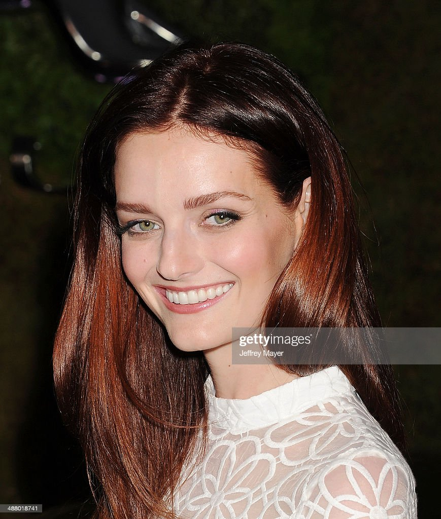 Actress/model Lydia Hearst attends the Jaguar North America and BritWeek present a Villainous Affair held at The London on May 2 2014 in West...
