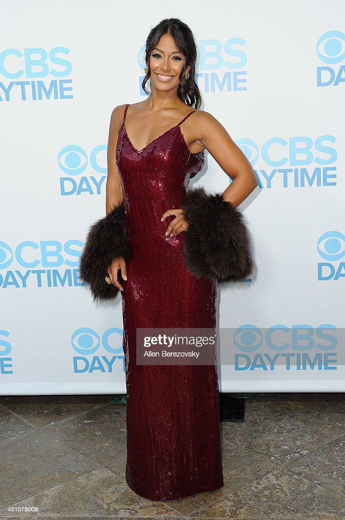 Actress/model Manuela Arbelaez attends the 41st Annual Daytime Emmy Awards CBS After Party at The Beverly Hilton Hotel on June 22 2014 in Beverly...