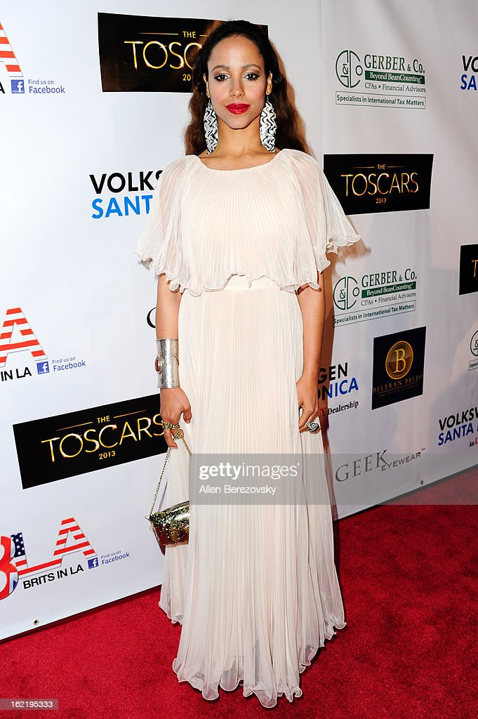 Actress/model Marilinda Rivera attends the 6th Annual Toscar Awards at the Egyptian Theatre on February 19, 2013 in Hollywood, California.