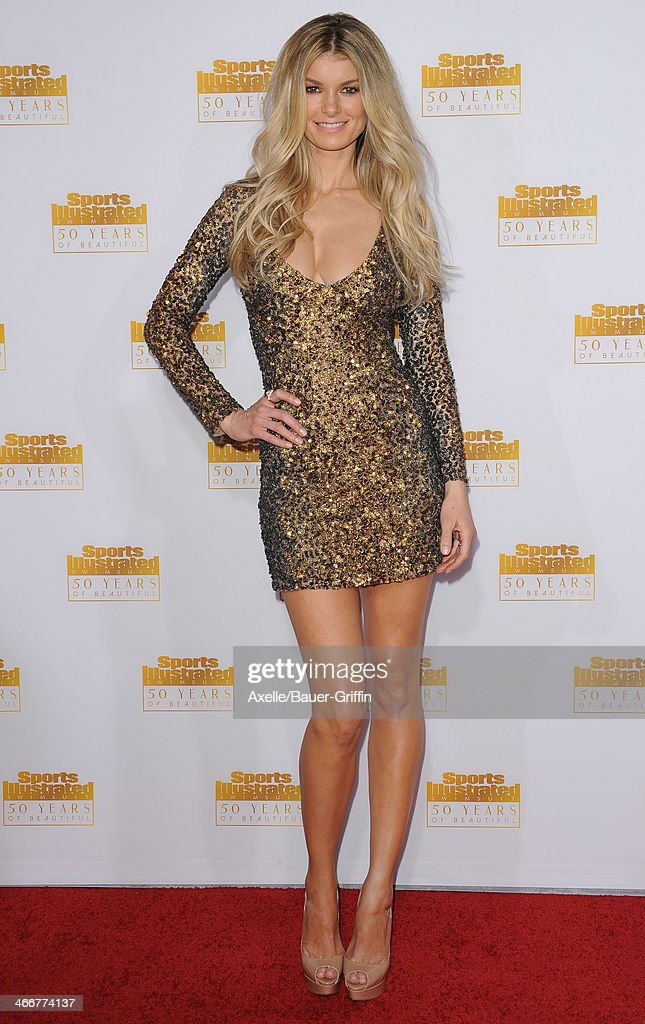 Actress/model <a gi-track='captionPersonalityLinkClicked' href=/galleries/search?phrase=Marisa+Miller&family=editorial&specificpeople=224592 ng-click='$event.stopPropagation()'>Marisa Miller</a> arrives at NBC And Time Inc. Celebrate 50th Anniversary Of Sports Illustrated Swimsuit Issue at Dolby Theatre on January 14, 2014 in Hollywood, California.