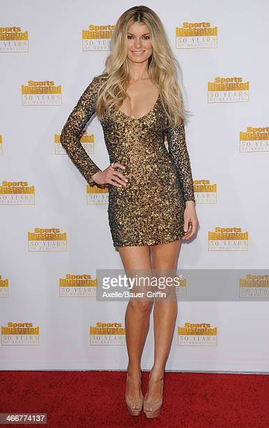 Actress/model Marisa Miller arrives at NBC And Time Inc Celebrate 50th Anniversary Of Sports Illustrated Swimsuit Issue at Dolby Theatre on January...