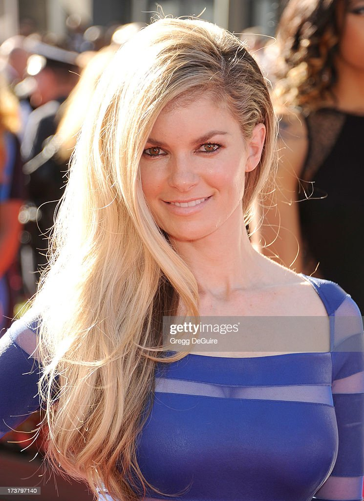 Actress/model <a gi-track='captionPersonalityLinkClicked' href=/galleries/search?phrase=Marisa+Miller&family=editorial&specificpeople=224592 ng-click='$event.stopPropagation()'>Marisa Miller</a> arrives at the 2013 ESPY Awards at Nokia Theatre L.A. Live on July 17, 2013 in Los Angeles, California.
