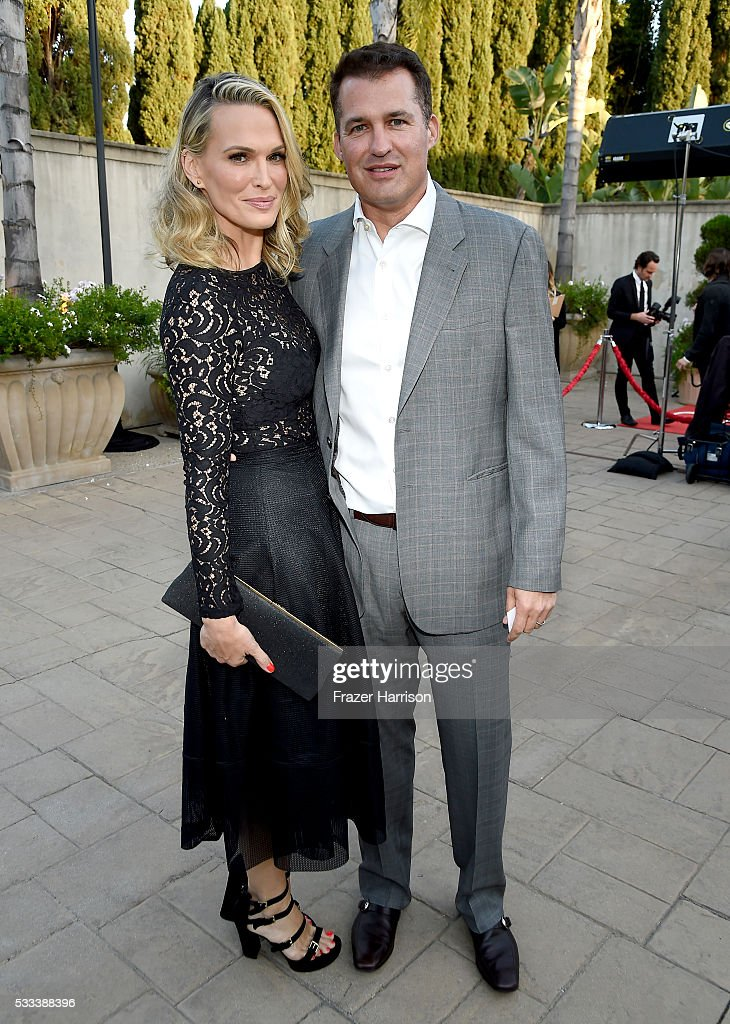 Actress/model Molly Sims and film producer Scott Stuber attend The Heart Foundation 20th Anniversary Event honoring Discovery Land Company's Mike...