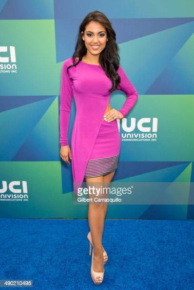 Actress/model Nabila Tapia attends the 2014 Univision Upfront at Gotham Hall on May 13 2014 in New York City