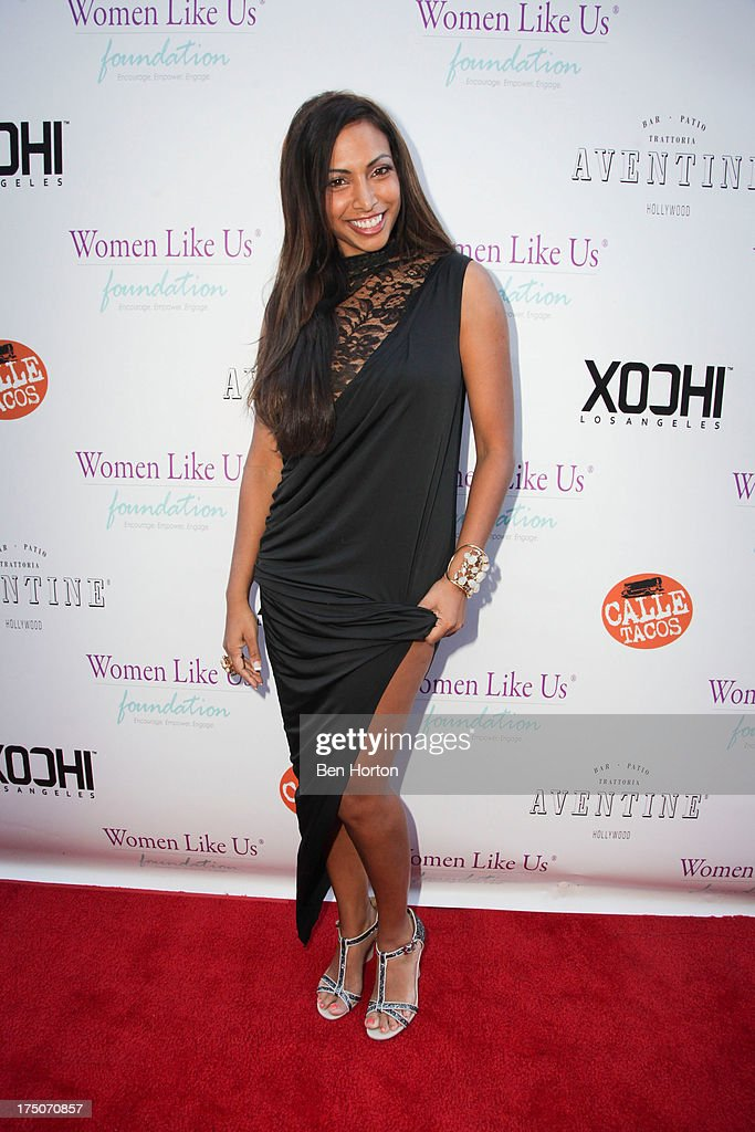 Actress/model Nadia Dawn attends the Women Like Us Foundation's One Girl at a Time Fundraiser at the Aventine Hollywood on July 30, 2013 in Hollywood, California.