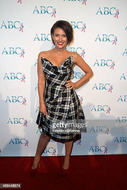 Actress/model Nicky Whelan attends Associates for Breast and Prostate Cancer Studios 25th Annual Talk of the Town Black Tie Gala at The Beverly...
