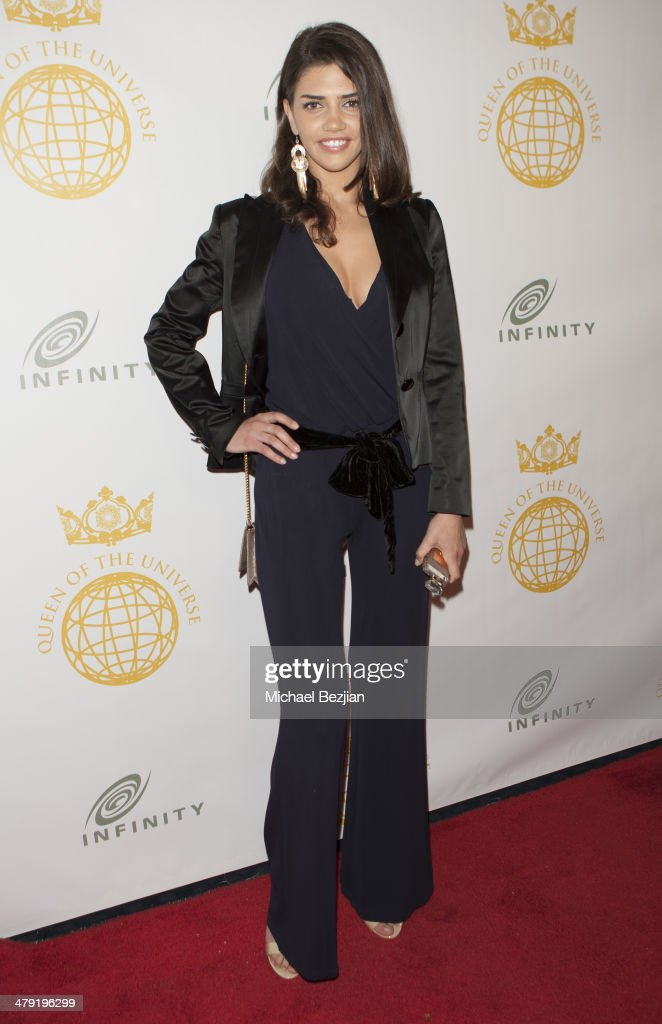 Actress/Model Nicoleta Vaculov attends Queen Of The Universe International Beauty Pageant at Saban Theatre on March 16, 2014 in Beverly Hills, California.